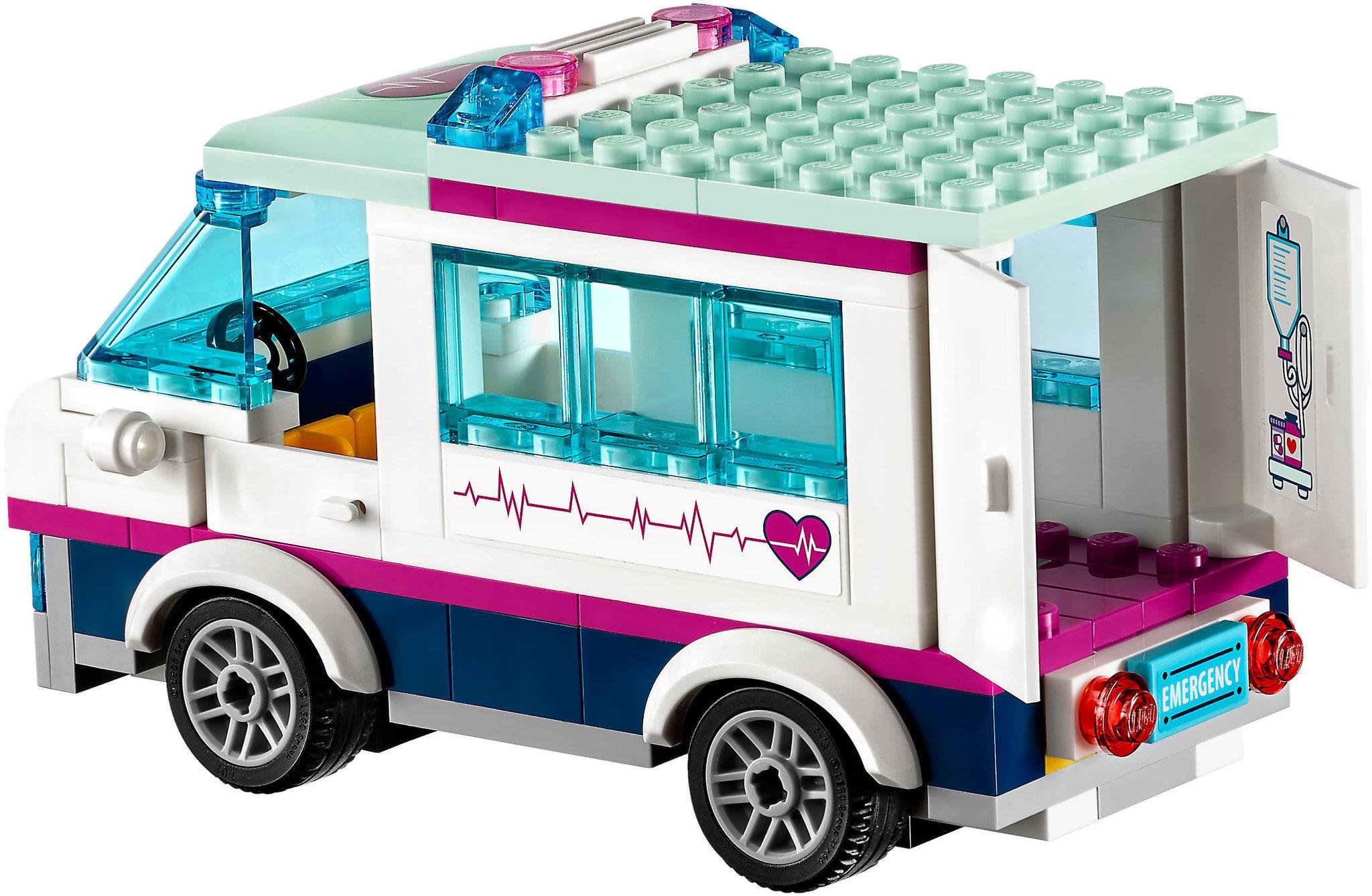 Lego Friends 41318 Heartlake Hospital Mattonito