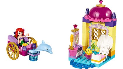 10723 Ariel s Dolphin Carriage