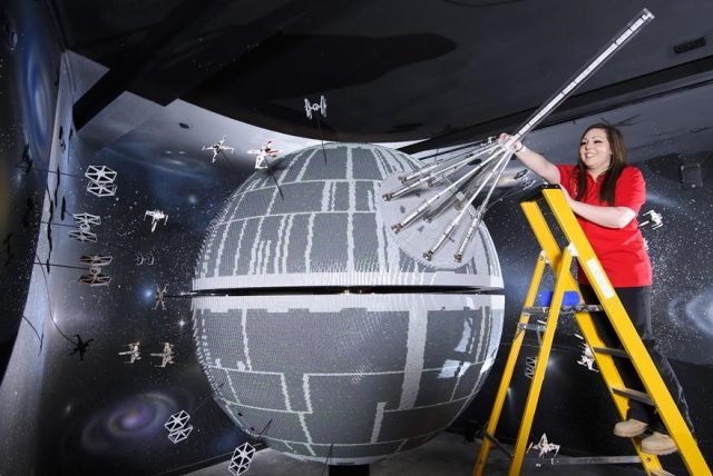 12 one of the worlds biggest ever lego star wars models installed at the legoland windsor resort 210