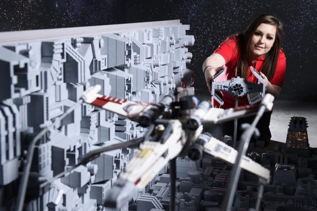 2 one of the worlds biggest ever lego star wars models installed at the legoland windsor resort 656