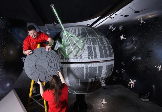 3 one of the worlds biggest ever lego star wars models installed at the legoland windsor resort 279