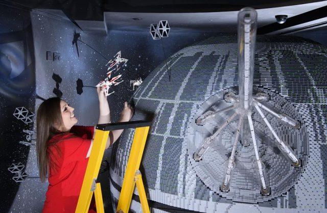 4 one of the worlds biggest ever lego star wars models installed at the legoland windsor resort 697