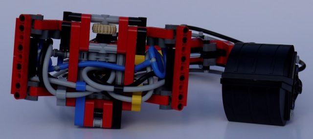 42043 mercedes benz arocs 3245 braccio pneumatico 3 251