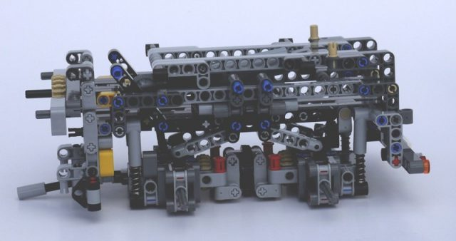 42043 mercedes benz arocs 3245 telaio posteriore 1 776