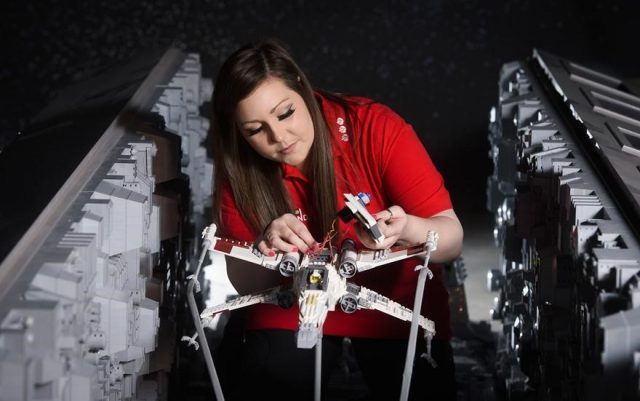 7 one of the worlds biggest ever lego star wars models installed at the legoland windsor resort 344