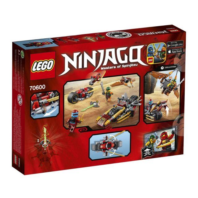 70600 ninja bike chase 2