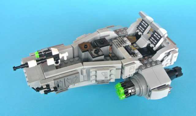 75110 First Order Snowspeeder base 5