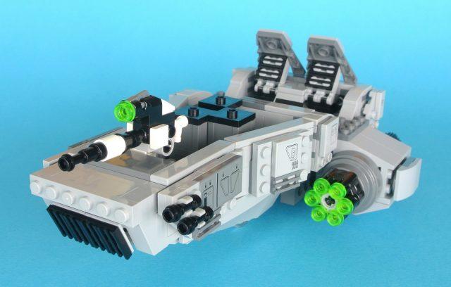 75110 First Order Snowspeeder completo