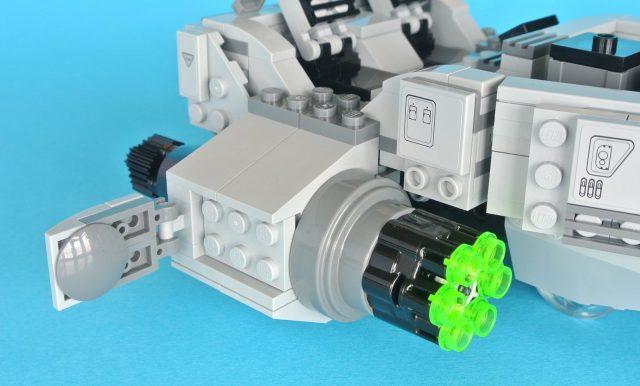 75110 First Order Snowspeeder motori laterali