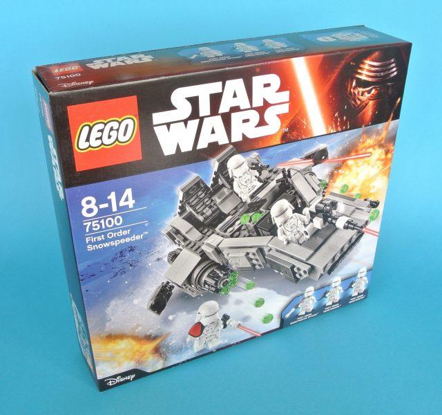 75110 First Order Snowspeeder scatola