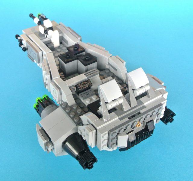 75110 First Order Snowspeeder sedili