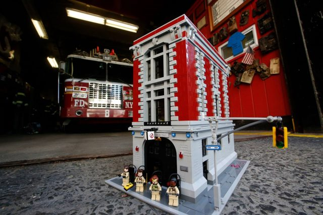 7582 Ghostbusters Firehouse Headquarters