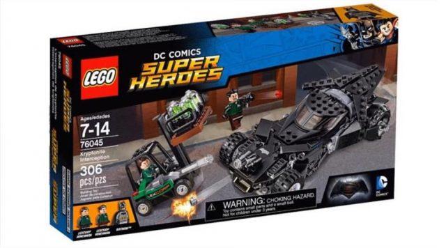 76045 lego dc comics super heroes dawn of justice kryptonite interception