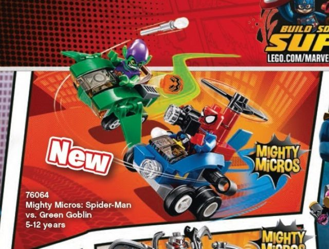 76064 mighty micros spider man vs green goblin