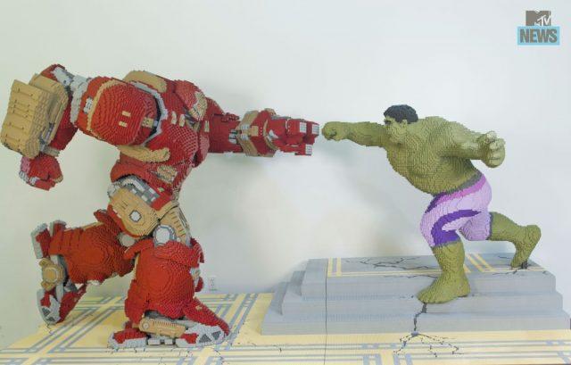 Hulk vs HulbBuster sdcc 2015