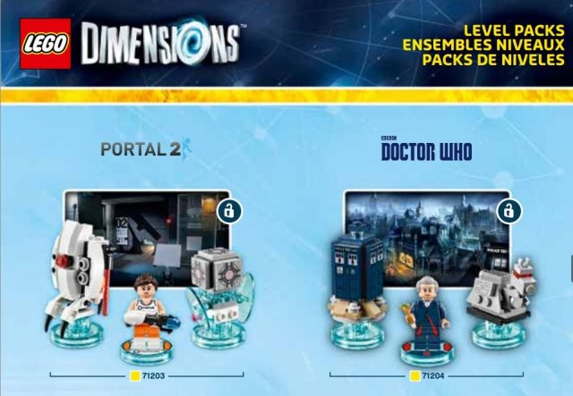LEGO Dimensions Doctor Who pack