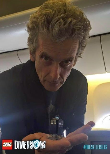 LEGO Dimensions Doctor Who peter capaldi