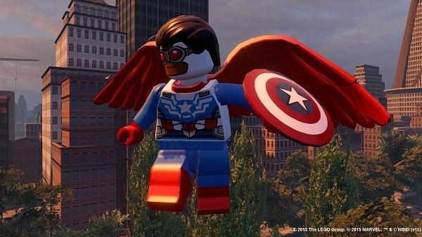 LEGO Marvel Avengers sam wilson capitan america