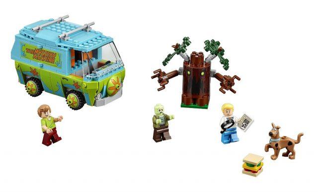 LEGO Scooby Doo 75902 the Mystery Machine 2