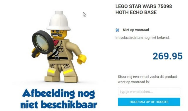 Lego 75098 UCS Hoth Set