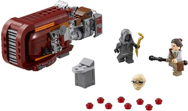 Lego Star Wars 75099 Reys Speeder Minifigures 1024x607