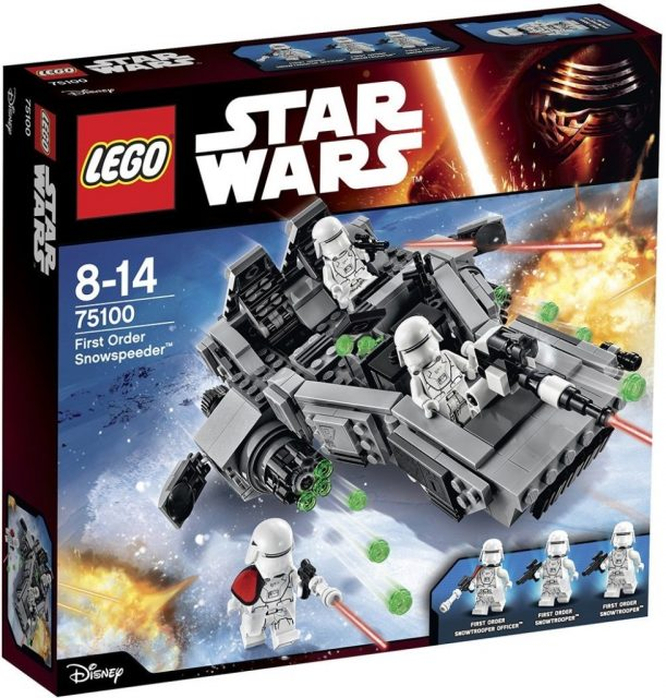 Lego Star Wars 75100 First Order Snowspeeder 978x1024