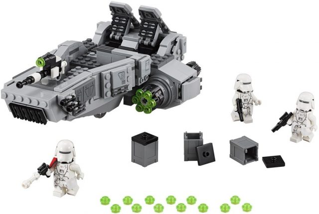 Lego Star Wars 75100 First Order Snowspeeder Minifigures 1024x688