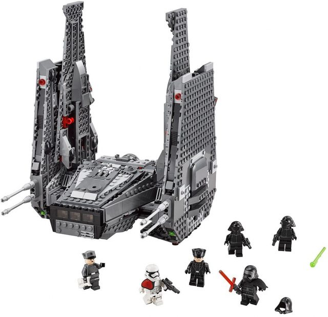 Lego Star Wars 75104 Kylo Rens Command Shuttle Minifigures