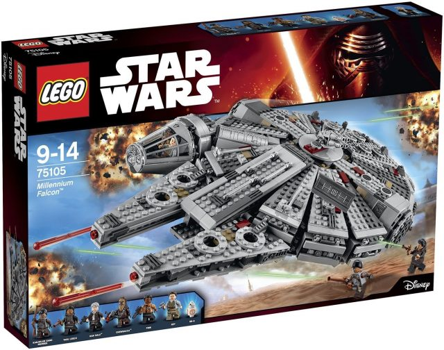 Lego Star Wars 75105 Milenium Falcon
