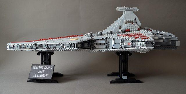 UCS style MOC Venator class Star Destroyer 3