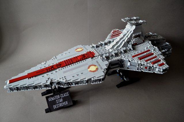 UCS style MOC Venator class Star Destroyer