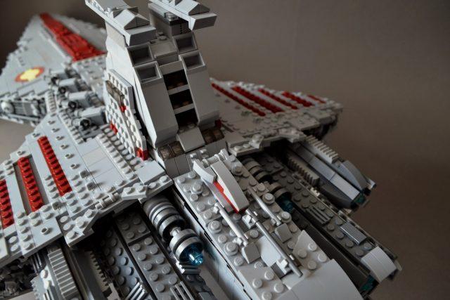 UCS style MOC Venator class Star Destroyer 7