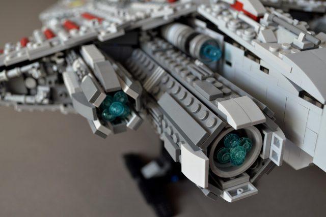 UCS style MOC Venator class Star Destroyer 8