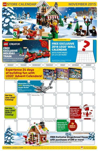 calendario lego novembre 2015