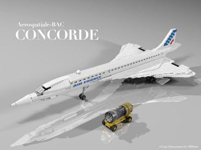 concorde display set
