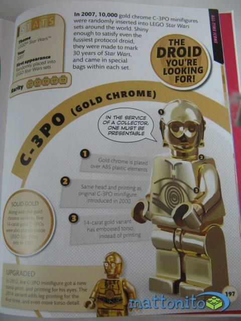 i love that minifigure pagina c3po gold