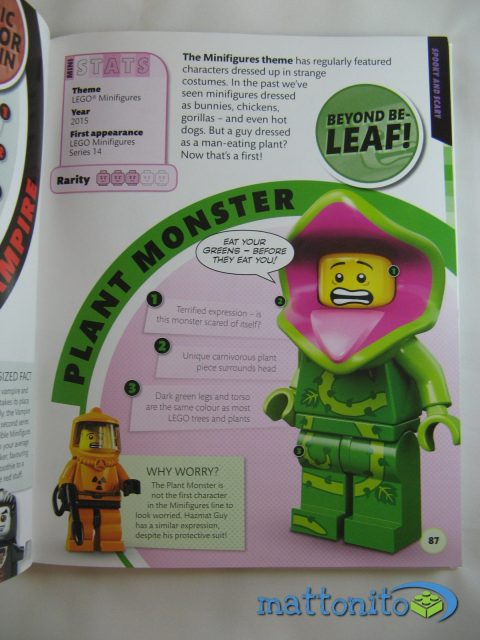i love that minifigure pagina plant monster