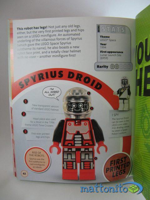 i love that minifigure pagina spyrus droid