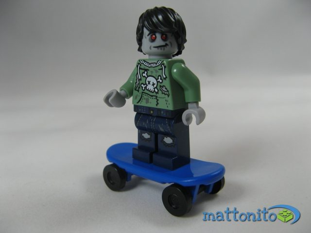 i love that minifigure zombie skateboarder