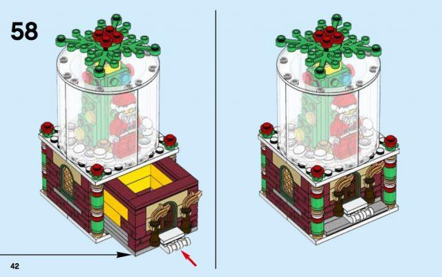 istruzioni christmas ornament 40223