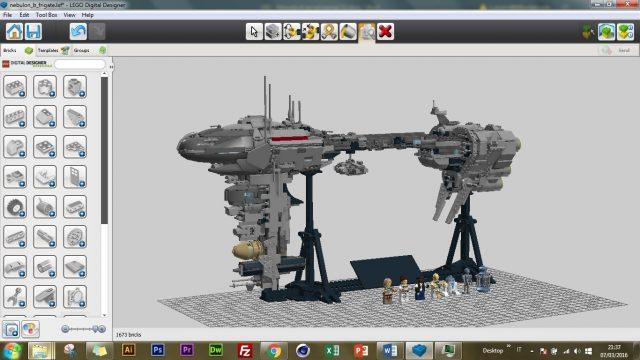 Guida a LEGO Digital Designer