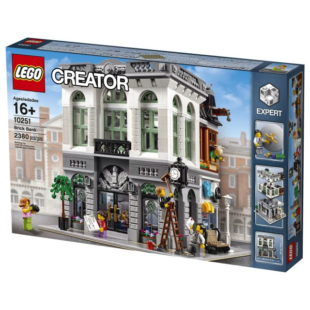 lego 10251 Modular Brick Bank 1
