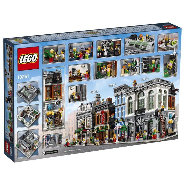 lego 10251 Modular Brick Bank 2