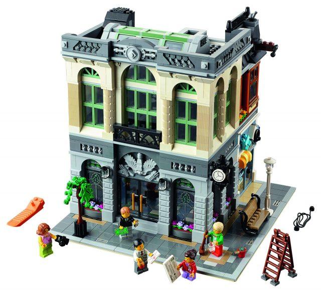 lego 10251 Modular Brick Bank 3