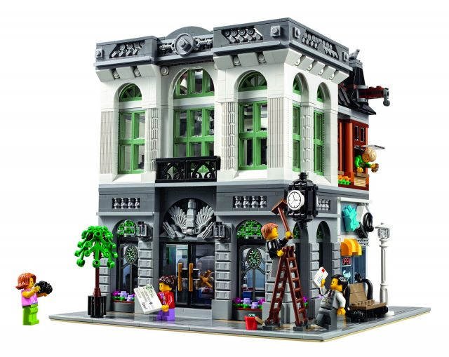 lego 10251 Modular Brick Bank 4