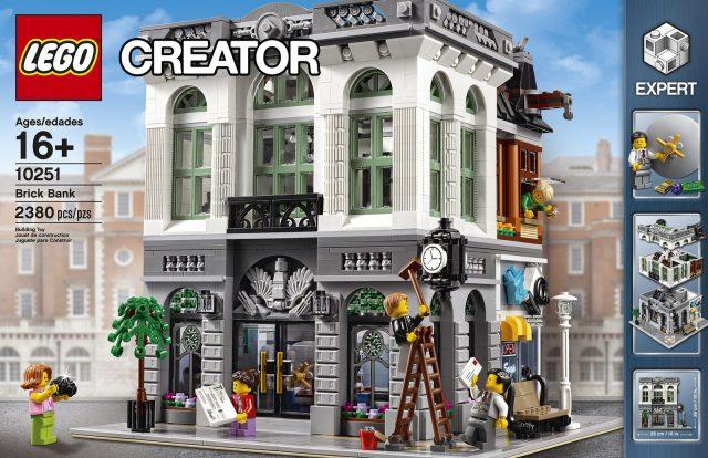 lego 10251 Modular Brick Bank