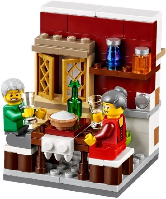 lego 40123 Thanksgiving Feast 1
