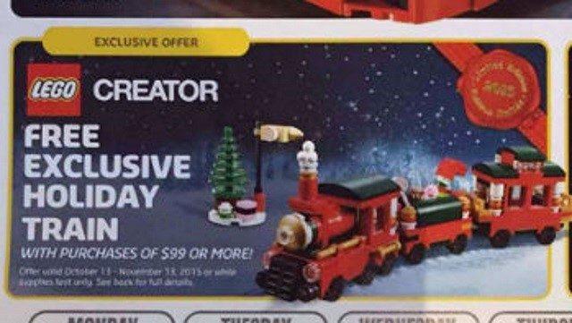 lego 40138 Holiday Train
