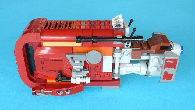 lego 75099 Rey s Speeder lato