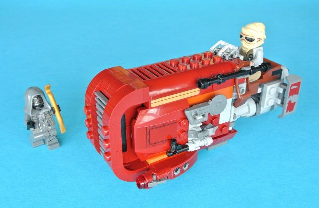 lego 75099 Rey s Speeder panoramica